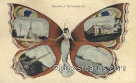 pop100017 - Old Vintage Antique Postcard Post Card