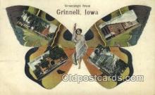 Greetings from Grinnell, Iowa, USA