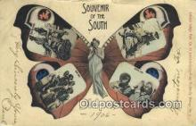 pop100036 - Souvenir of the South Old Vintage Antique Postcard Post Card
