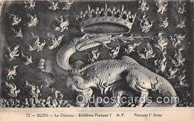 pre000002 - Blois Le Chateau Postcards Post Cards Old Vintage Antique