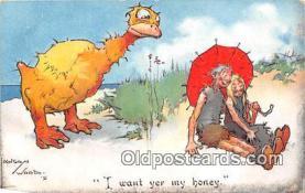 pre000015 - Artist Lawson Wood Postcards Post Cards Old Vintage Antique