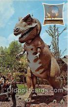 pre000041 - Tyrannosaurus Rex New York World's Fair 1964-65, USA Postcards Post Cards Old Vintage Antique