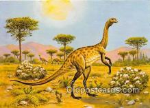 pre000052 - Stuthiomimus Painting by Matthew Kalmenoff Postcards Post Cards Old Vintage Antique
