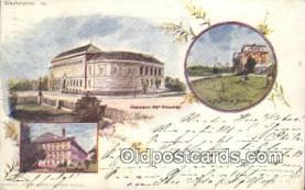 prg001022 - By American Souvenir Card Co. 1897 Washington Patriographics, Postcard Postcards