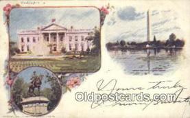 prg001024 - By American Souvenir Card Co. 1897 Washington Patriographics, Postcard Postcards
