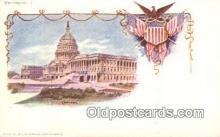 prg001025 - By American Souvenir Card Co. 1897 Washington Patriographics, Postcard Postcards