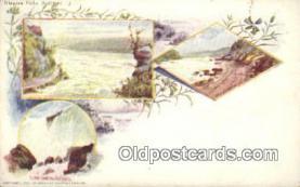 prg001035 - Niagara Falls, Summer Patriographics, Postcard Postcards
