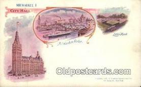 prg001038 - Milwaukee Patriographics, Postcard Postcards