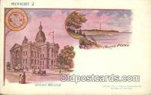 prg001039 - Milwaukee Patriographics, Postcard Postcards