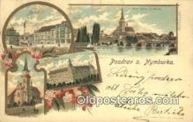 prg001054 - Pozdrav Z. Nymburka Patriographics, Postcard Postcards