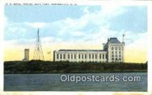 pri001011 - U.S. Naval Prison, Navy Yard, New Hampsir, USA Prison, Jail, Penitentiary, Postcard Postcards