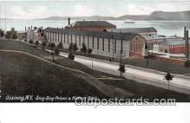 pri001037 - Sing Sing Prison Ossining, NY USA Prison Postcard Post Card