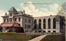 pri001038 - New Jail, Oswego County Oswego, NY USA Prison Postcard Post Card