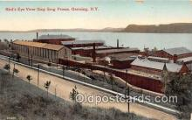 pri001040 - Sing Sing Prison Ossining, NY USA Prison Postcard Post Card
