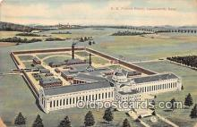 pri001042 - US Federal Prison Leavenworth, Kansas USA Prison Postcard Post Card