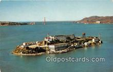 pri001048 - Alcatraz Island San Francisco Bay, CA USA Prison Postcard Post Card