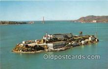 pri001050 - Alcatraz Island San Francisco Bay, CA USA Prison Postcard Post Card