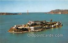 pri001053 - Alcatraz Island San Francisco Bay, CA USA Prison Postcard Post Card