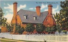 pri001054 - Public Goal Williamsburg, Virginia USA Prison Postcard Post Card
