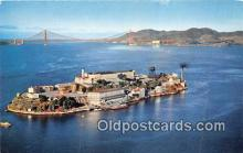 pri001055 - Alcatraz Island San Francisco, CA USA Prison Postcard Post Card