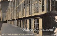 pri001067 - New Cell Blocks, Michigan State Prison Jackson, Michigan USA Prison Postcard Post Card