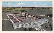 pri001074 - US Penitentiary Leavenworth, Kansas USA Prison Postcard Post Card