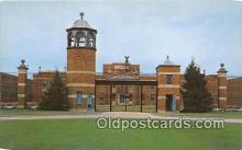 pri001076 - US Federal Prison Terre Haute, Indiana USA Prison Postcard Post Card