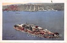 pri001082 - Alcatraz Island San Francisco, CA USA Prison Postcard Post Card