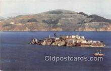 pri001087 - Alcatraz Island San Francisco, CA USA Prison Postcard Post Card