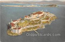 pri001108 - The Rock, Alcatraz Island San Francisco Bay, CA Prison Postcard Post Card