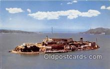 pri001114 - Alcatraz Island San Francisco, CA USA Prison Postcard Post Card