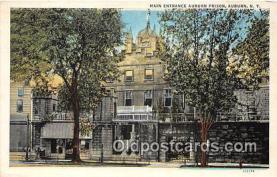 pri001123 - Suburn Prison Auburn, NY USA Prison Postcard Post Card