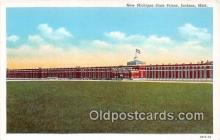 pri001124 - New Michigan State Prison Jackson, Michigan USA Prison Postcard Post Card