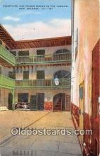 pri001126 - Courtyard & Prison Rooms Cabildo, New Orleans LA USA Prison Postcard Post Card