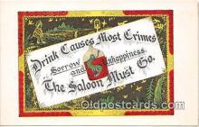 Saloon Must Go