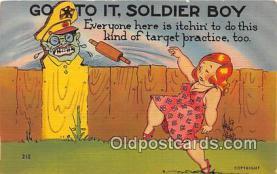 Artist Wellman, Go to it, Soldier Boy
