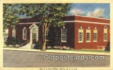 pst001001 - Liberty, NY USA,  Post Office Postcard, Postoffice Post Card Old Vintage Antique