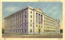 pst001013 - Little Rock, Ark USA,  Post Office Postcard, Postoffice Post Card Old Vintage Antique