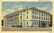 pst001016 - Fargo, ND USA,  Post Office Postcard, Postoffice Post Card Old Vintage Antique