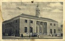 pst001019 - Wilmington, NC USA,  Post Office Postcard, Postoffice Post Card Old Vintage Antique