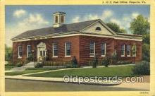 pst001028 - Emporia, VA USA,  Post Office Postcard, Postoffice Post Card Old Vintage Antique