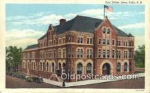 pst001038 - Sioux Falls, SD USA,  Post Office Postcard, Postoffice Post Card Old Vintage Antique