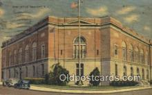 pst001039 - Newport, RI USA,  Post Office Postcard, Postoffice Post Card Old Vintage Antique