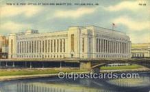 pst001041 - Philadelphia, PA USA,  Post Office Postcard, Postoffice Post Card Old Vintage Antique