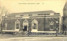 pst001047 - Middleboro, Mass USA,  Post Office Postcard, Postoffice Post Card Old Vintage Antique