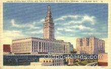 pst001048 - Cleveland, OH USA,  Post Office Postcard, Postoffice Post Card Old Vintage Antique