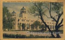 pst001052 - Los Angeles, CA USA,  Post Office Postcard, Postoffice Post Card Old Vintage Antique