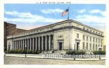 pst001054 - Dayton, OH USA,  Post Office Postcard, Postoffice Post Card Old Vintage Antique