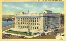 pst001057 - Columbus, OH USA,  Post Office Postcard, Postoffice Post Card Old Vintage Antique