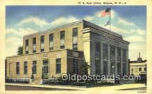 pst001059 - Malone, NY USA,  Post Office Postcard, Postoffice Post Card Old Vintage Antique